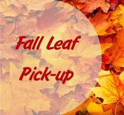 Fall Leaf Pick Up