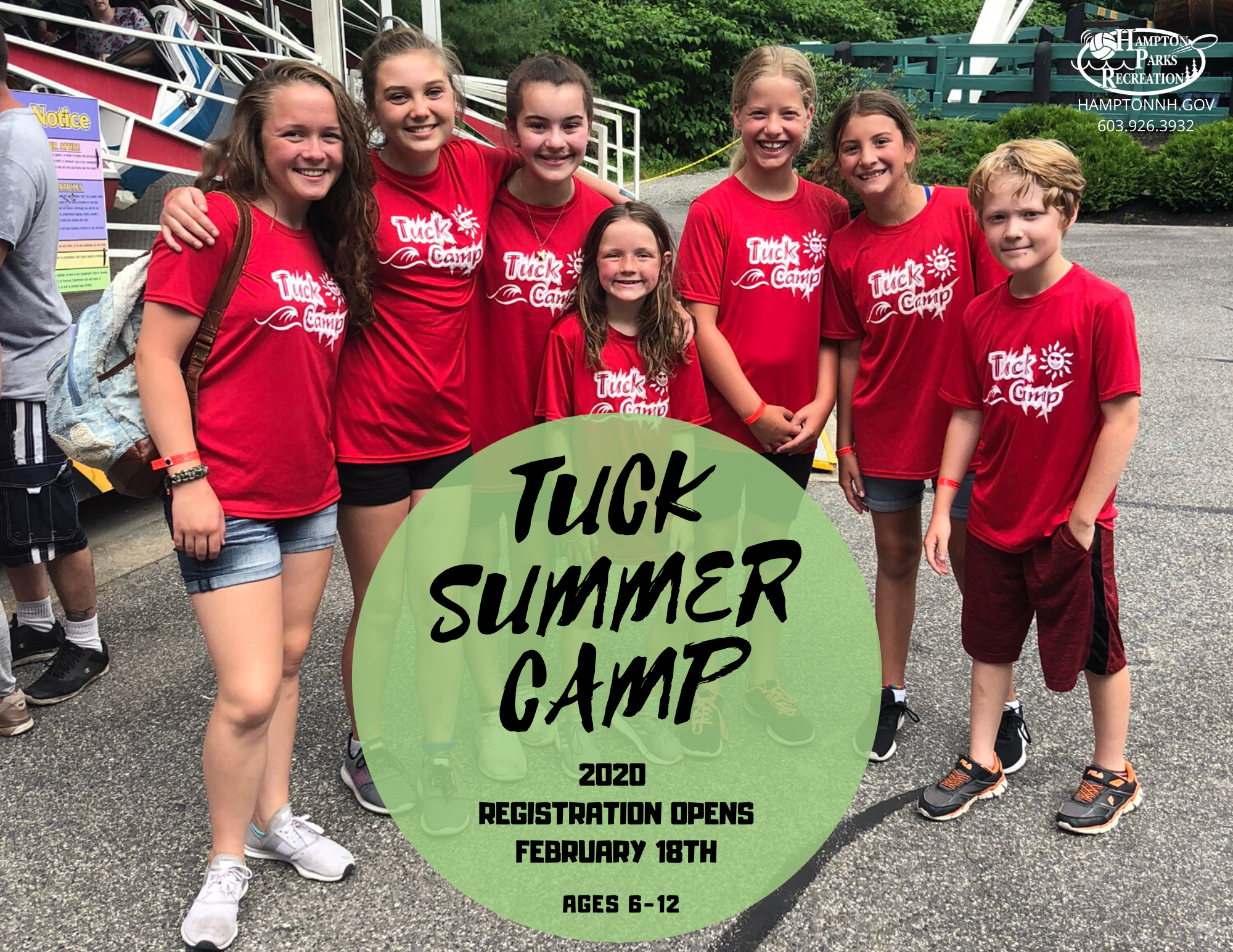 TUCK CAMP REGISTRATION